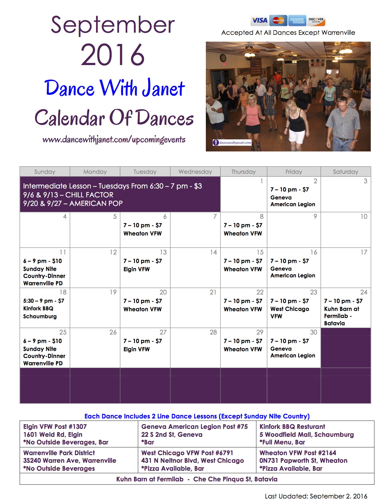 Dances Flyer